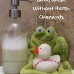 DIY Natural Baby Wash