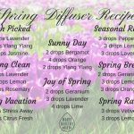 Spring Diffuser Recipes