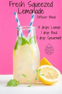 Fresh Squeezed Lemonade Sweet Summertime Diffuser Blend