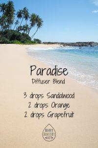 Paradise Sweet Summertime Diffuser Blend