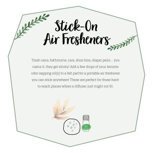 DIY Stick On Air Fresheners